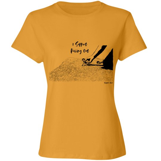 I Support Pulling Out - Women - Relaxed Cotton Tee