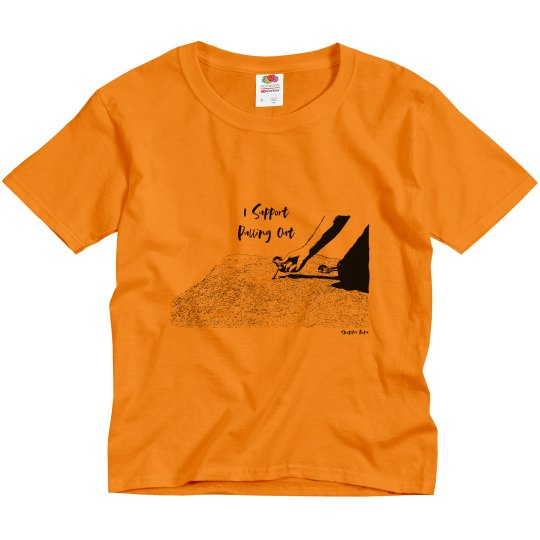 I Support Pulling Out - Youth - Midweight Tee