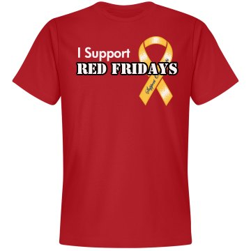 I Support Red Fridays Men