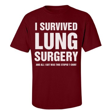 I survived lung surgery