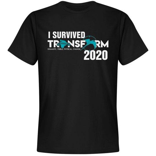 I SURVIVED TRANSFORM 2020-black