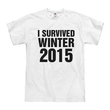 I survived winter 2015