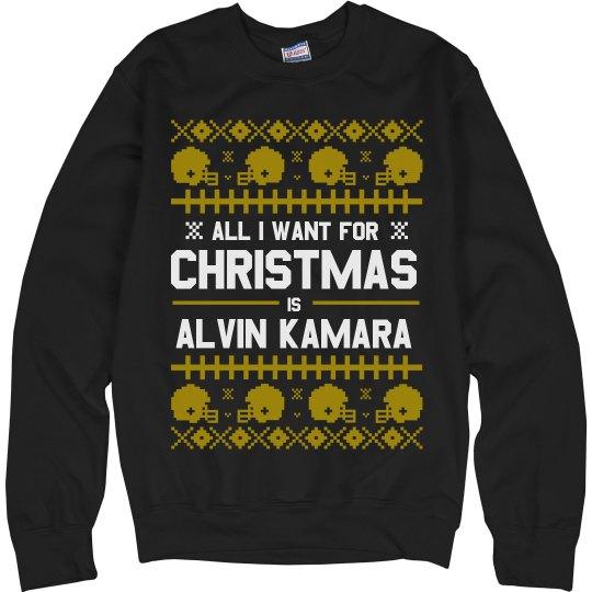 I Want Alvin Kamara Ugly Sweater