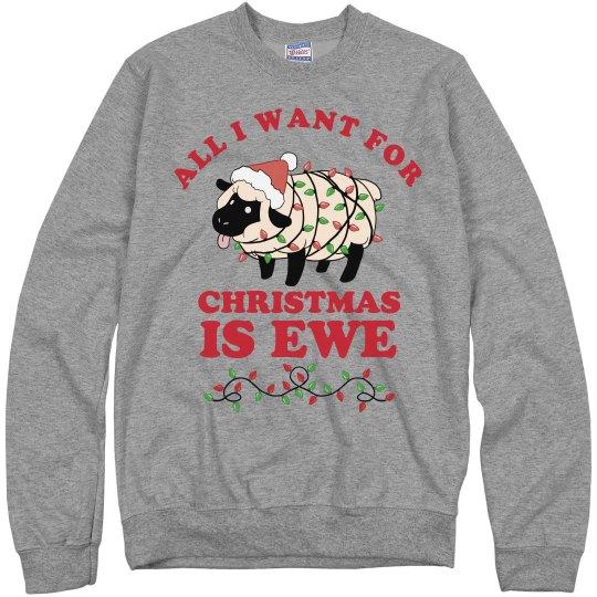 I Want Ewe For Christmas