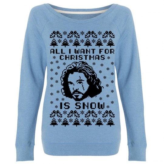 I Want Jon Snow For Christmas