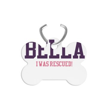 I Was Rescued! Dog Tag
