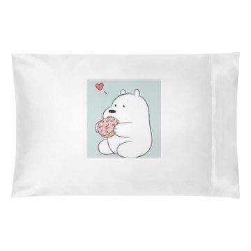 Ice bear pillow