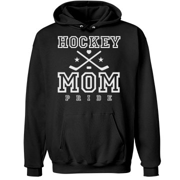 Ice Hockey Mom Pride