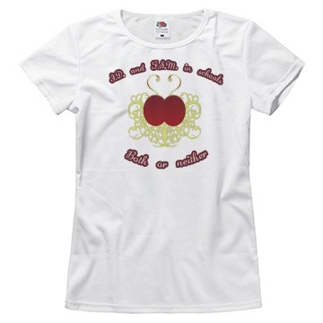 I.D. and F.S.M. women's tee