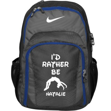 I'd Rather Be Cheering Nike Cheer Bag