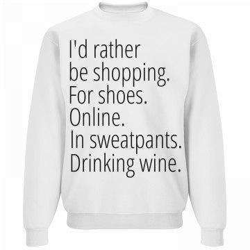 I'd Rather Cyber Shop