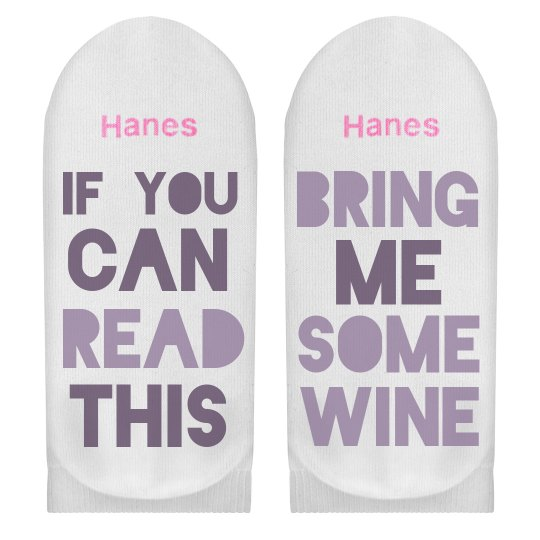 If You Can Read This Wine Please