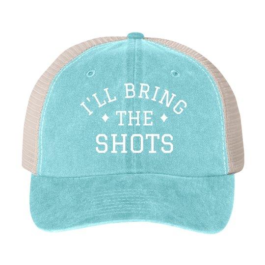 I'll Bring the Shots Bachelorette Hat