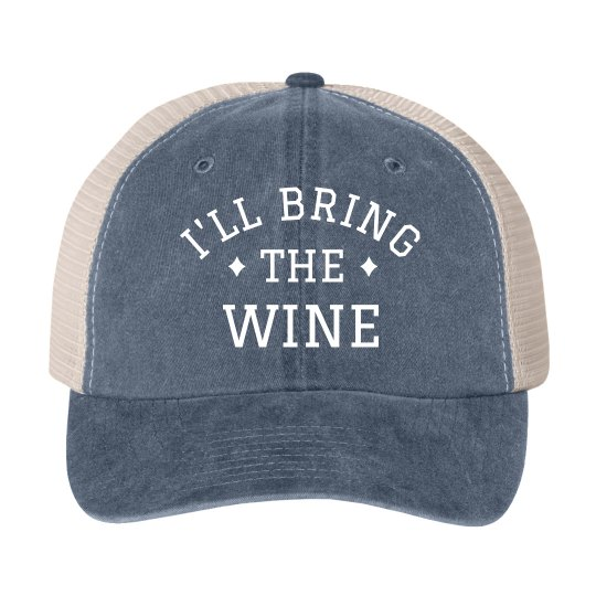 I'll Bring the Wine Bachelorette Hat