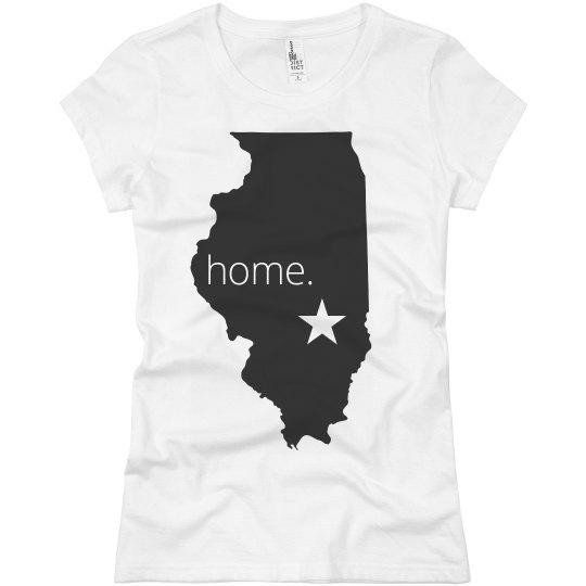 Illinois Home Tee