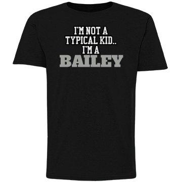 I'm a Bailey!