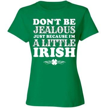 I'm a little Irish shirt
