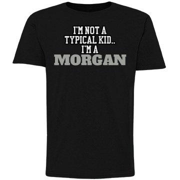 I'm a Morgan!