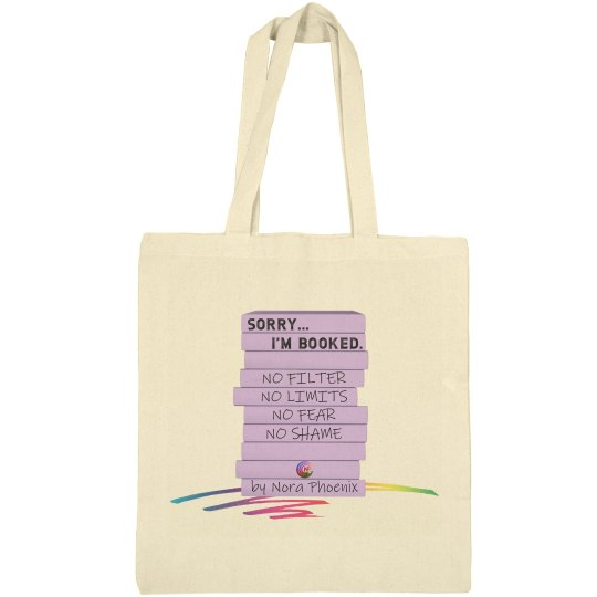 I'm Booked Tote