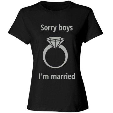 I'm married t shirt
