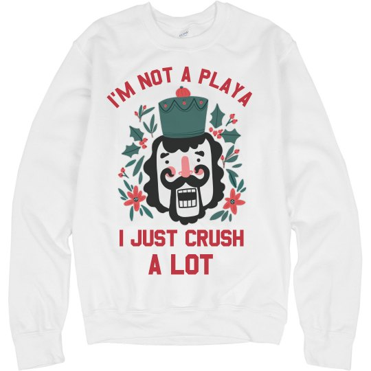 I'm Not A Playa Funny Xmas Sweater