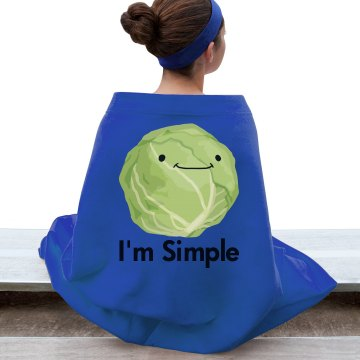 I'm Simple Blanket