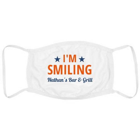 I'm Smiling Custom Restaurant Name