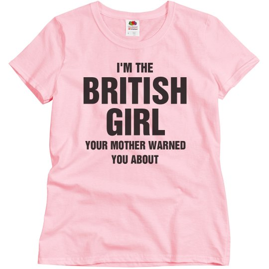 I'm the British girl