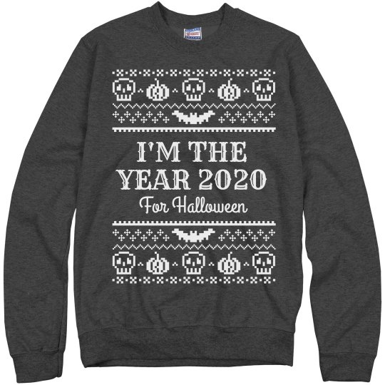 I'm the Year 2020 for Halloween