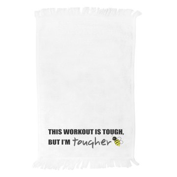 I'm Tougher Killer B Towel