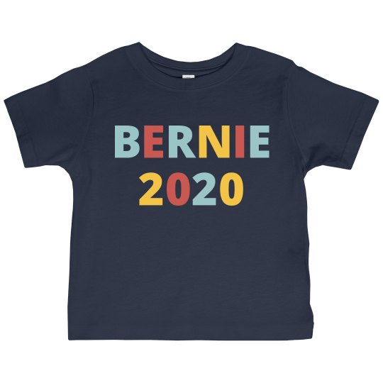 I'm With Bernie 2020 Toddler Tee