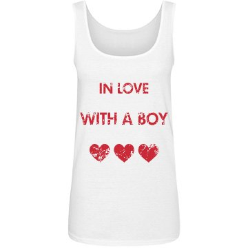 In Love With A Boy Tank Top