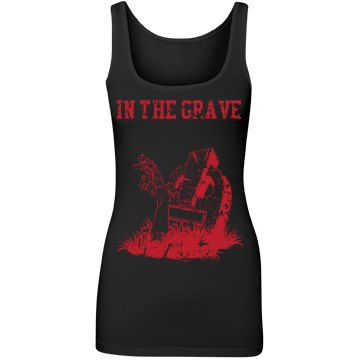 In the grave