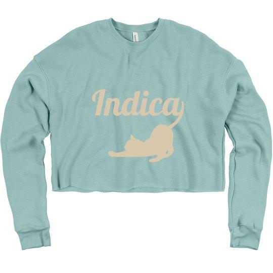 Indica Crop Sweater