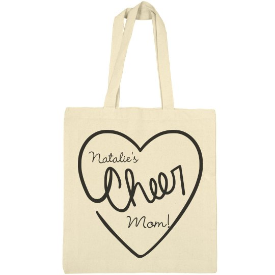 Inexpensive Custom Cheer Mom Bag With Name