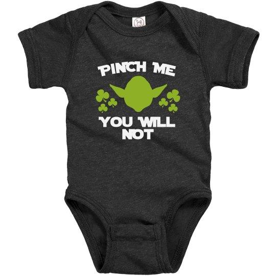 Infant Funny Pinch Me Onesie