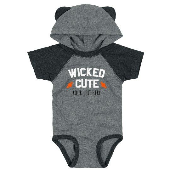 Infant Wicked Cute Hood Bodysuit