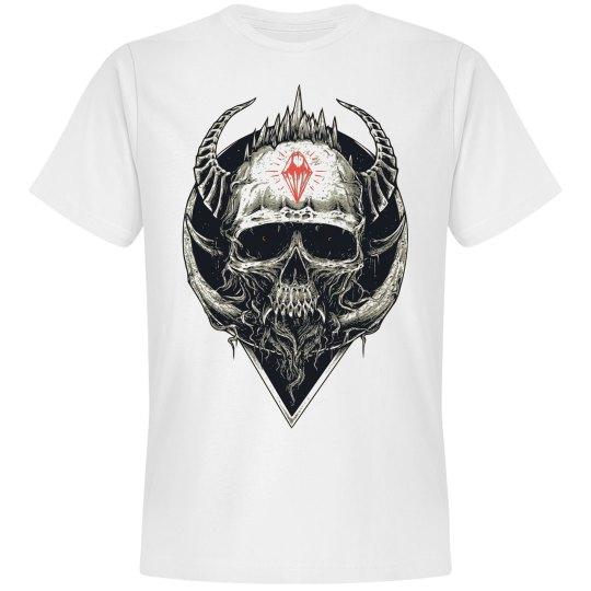 Ink'd Roses Dimond skull 1