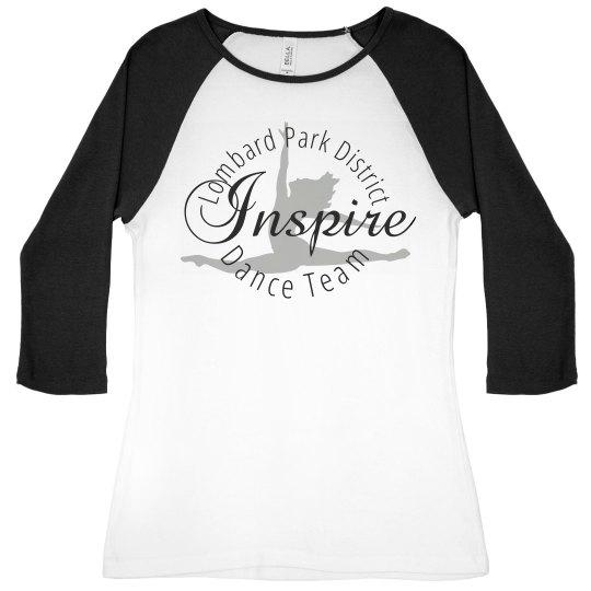Inspire Dance Team Baseball T