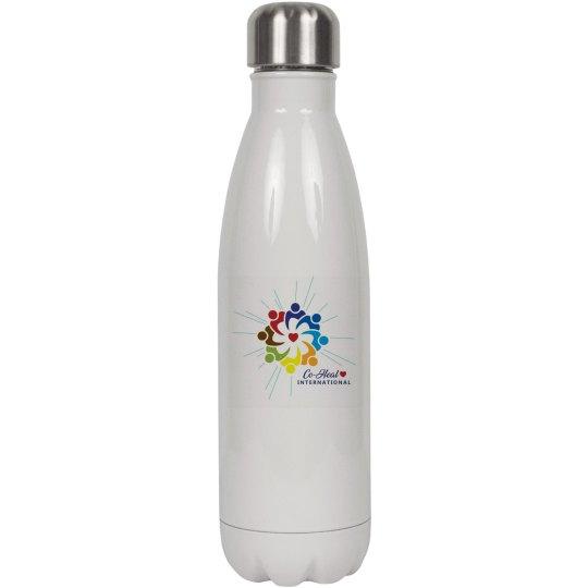 "Insulated Water Bottle ""Love Heals"""
