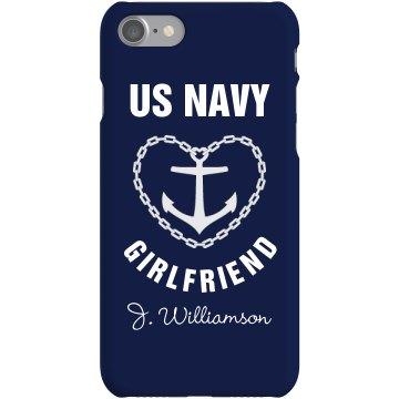 iPhone 5 Navy Girlfriend