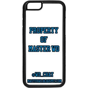 Iphone 6 Case (Blue font)