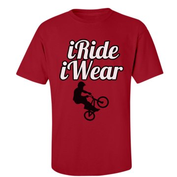 iRideiWear Red T-shirt