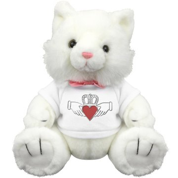 Irish Claddagh Kitty Cat