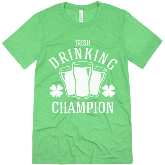 Irish Drinking Champion