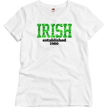 IRISH established 1980