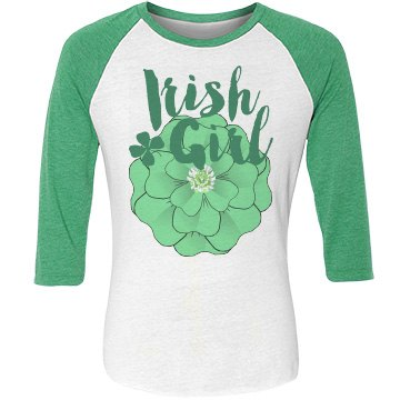 Irish Girl Clover Corsage