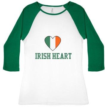 Irish Heart Tee