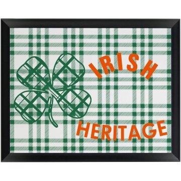 Irish Heritage Wallplaque