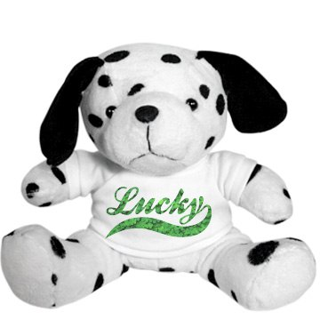 Irish Lucky Plush Bear